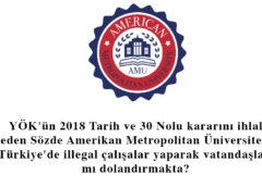 Fötöcü olduğundan kuşkulanılan sözde üniversite Türkiye'de illegal çalışmalar yaparak vatandaşlarımı dolandırmakta?